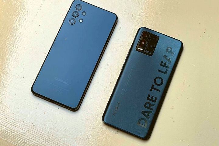 Samsung Galaxy A32 5G And Realme 8 Pro In The Test