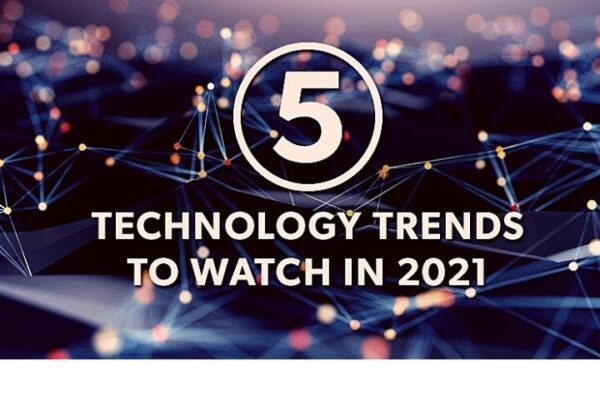 5 Tech Trends For 2021