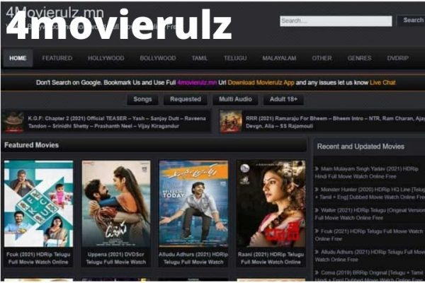 4Movierulz   Download Latest Hollywood, Bollywood, Tamil, Telugu, Hindi HD Movies On Movierulz4