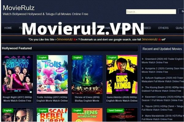 Movierulz.VPN   Watch & Download Latest Hollywood Dubbed, Telugu, Tamil Movies HD Online in [Updated 2021]