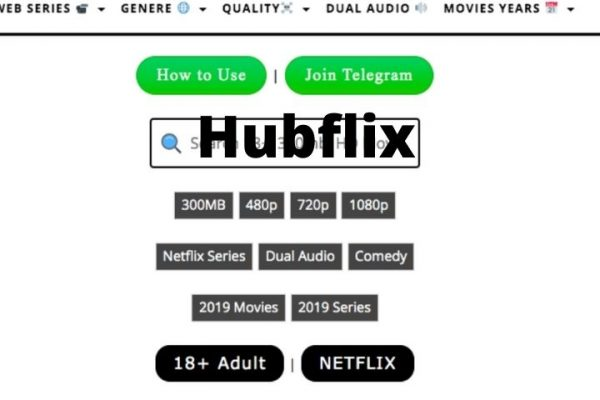 HubFlix: Download Latest 300MB, Hindi Dubbed Hollywood and Bollywood Movies For Free